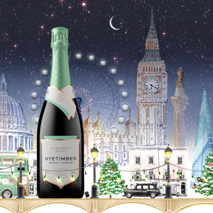 A Sparkling Christmas with Nyetimber