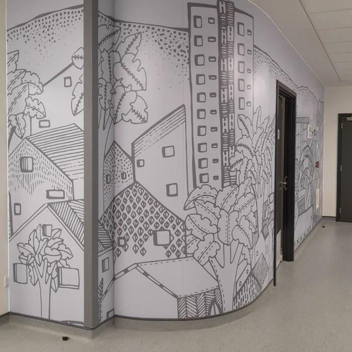 A Mural for Grange Hospital