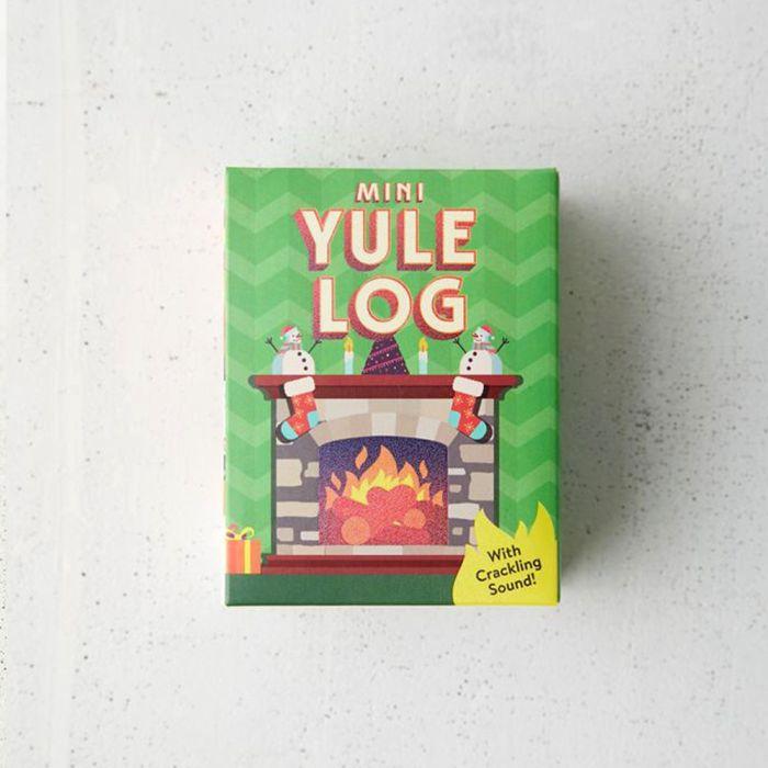 The Mini Yule Log