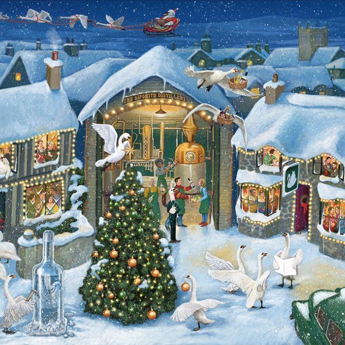 Christmas comes to Sipsmith