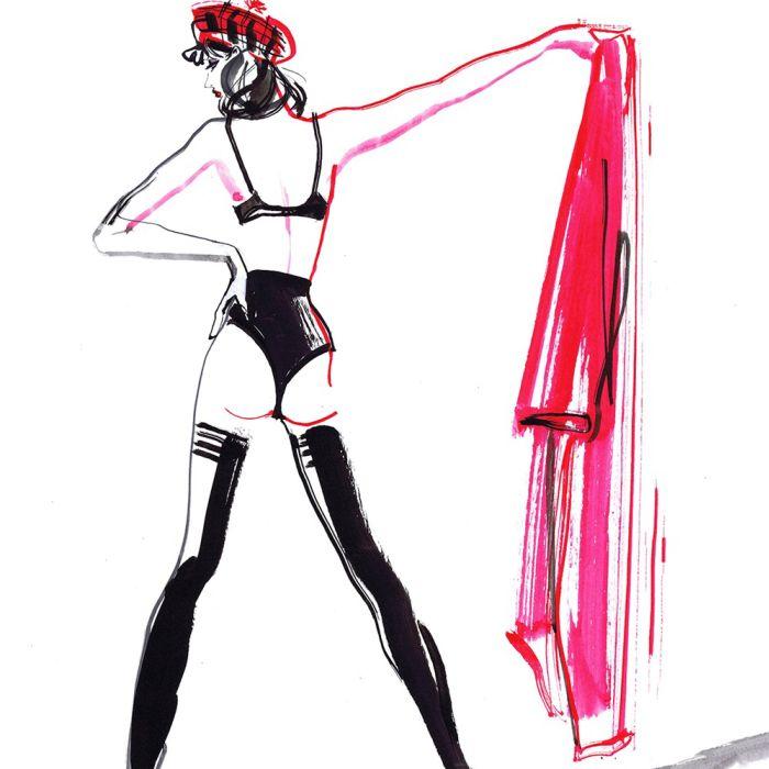 Lockdown Fashion Figures