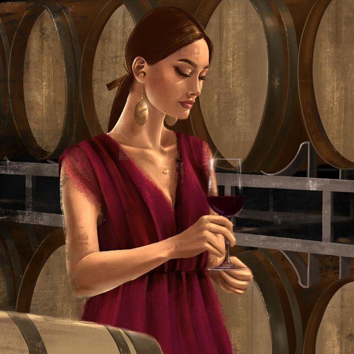 Mulheres do vinho