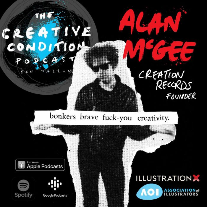 Alan McGee: uma mente brilhante da música fala no novo episódio do podcast Creative Condition