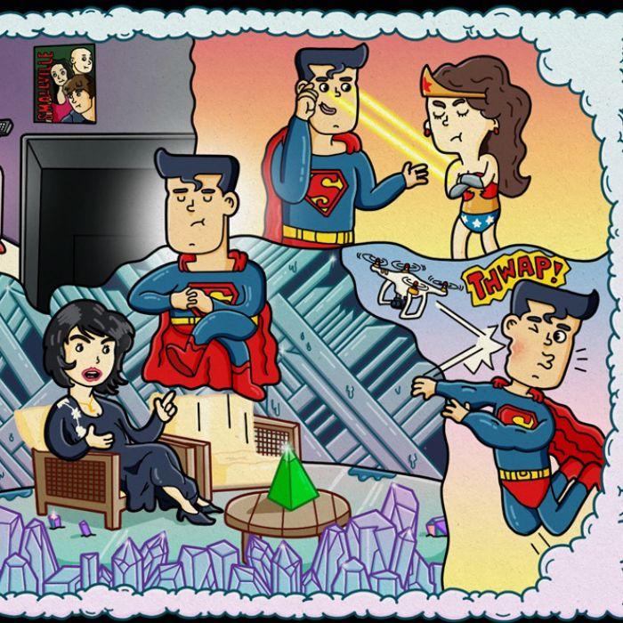Struggling Superheroes