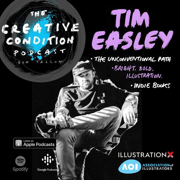 Illustrator, designer, photographer Tim Easley's unconventional path to the creative industry