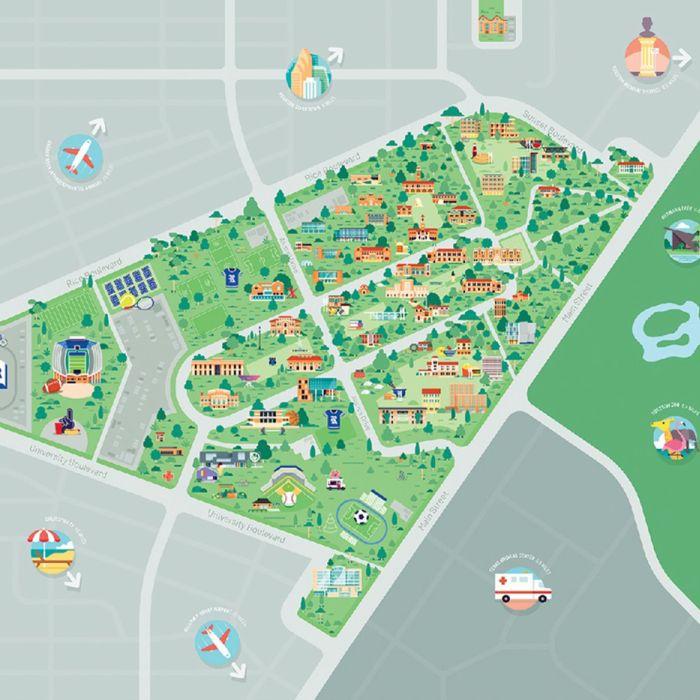 A Winning Interactive Map