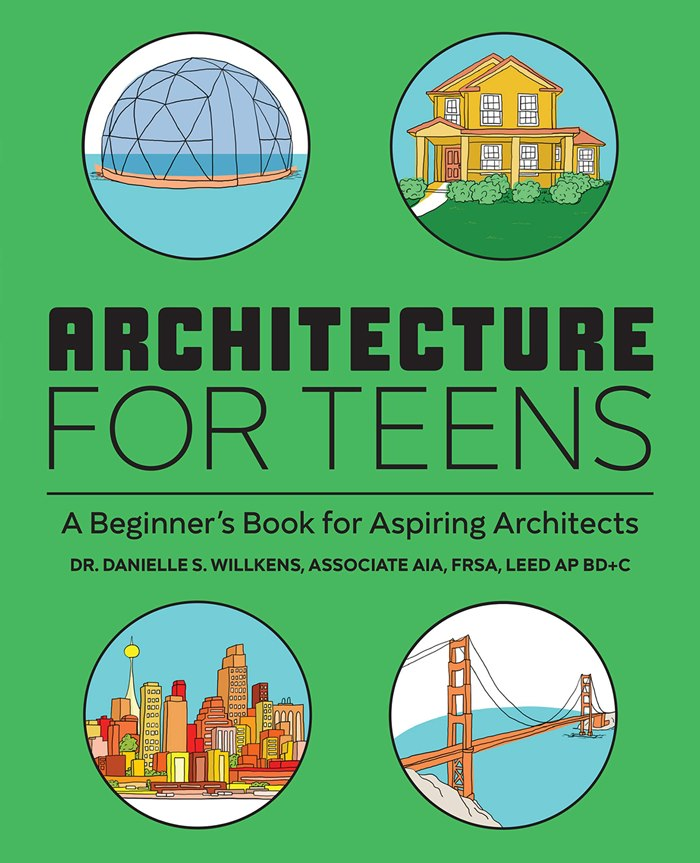 Book cover design of Architecture for Teens